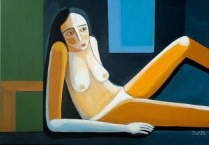 Iwona Birenbaum-Sacharz (ur. 1983), Ona niebieska, 2021