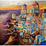 Magdalena Kurek (ur. 1979), Czas zatrzymany, czas odnaleziony - Santorini, 2021