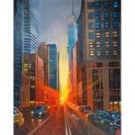 Karen Broyan (ur. 1986), New York Sunset, 2021