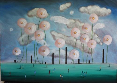Filip Łoziński, Kwiaty, 2021