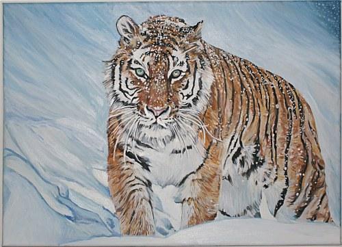 Ilona Foryś, Tygrys syberyjski, 2021