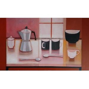 Iwona Birenbaum (Sacharz), Różowy poranek, 2020