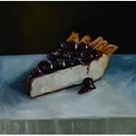 Szymon Kurpiewski (ur. 1984), Blueberry cheescake, 2021
