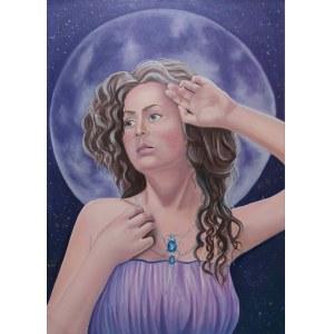 Olga Rojek (ur. 1987), New moon, 2021