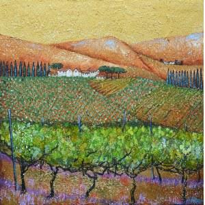 Alicja Kappa (ur. 1973), Złote winnice, 2021