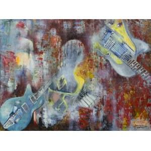 Anna Sandecka-Ląkocy (ur. 1970), Jazz impression, 2021