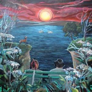 Marcelina Siwiec (ur. 1990), Pejzaż romantyczny, 2021