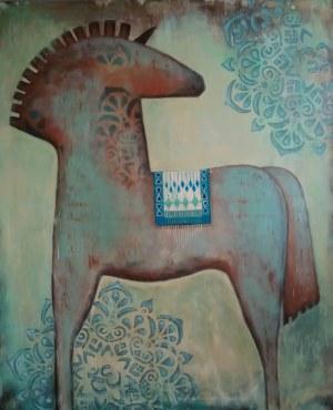 Justyna Michalska-Bąk (ur. 1976), Indian Summer, 2021
