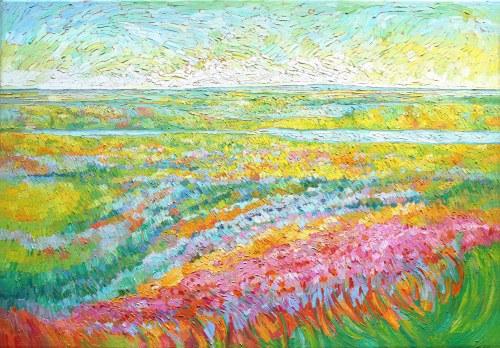 Monika Siwiec (ur. 1995), Falujące połacie traw, 2021
