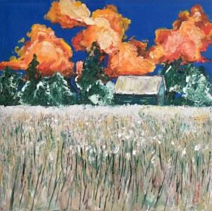 Pervin Ece Yakacik Leczycki (ur. 1991), Juicy Sunset Clouds, 2021
