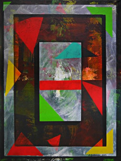 Andrzej Grabowski (ur. 1962), Wielo-kształty, 2021
