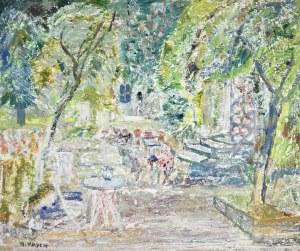 Henryk KRYCH (1905-1980), W kawiarni