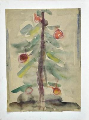 Krystyna PELLETIER (1914-2007), Świąteczne drzewko