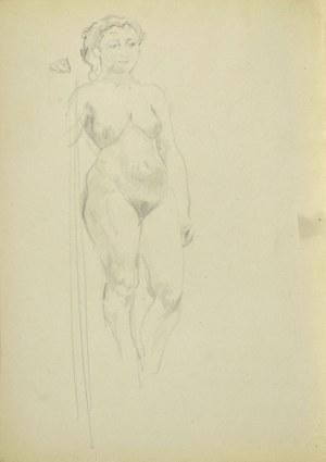 Kasper POCHWALSKI (1899-1971), Akt stojącej kobiety w kontrapoście