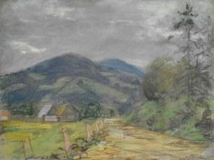 Władysław SERAFIN (1905-1988), Pejzaż podgórski latem