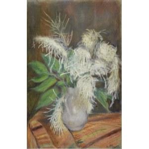 Władysław SERAFIN (1905-1988), Kwiaty w wazonie