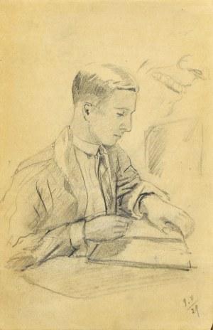 Stanisław ŻURAWSKI (1889-1976), Lekcja rysunku, 1921