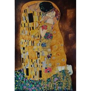 Tadeusz Rogowski, Pocałunek Kopia wg. Gustava Klimta
