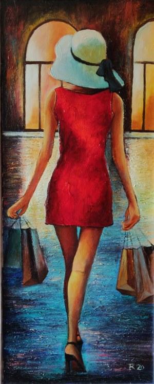 Tadeusz Rogowski, Lady in Red