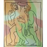 Jerzy Rymar,obraz inspirowany Pablo Picasso