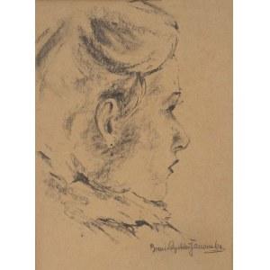 Bronisława Rychter- Janowska(1868-1953),Portret młodej kobiety