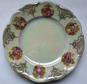 Talerzyk deserowy z bawarskiej porcelany