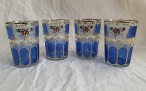 Zestaw ozdobnych szklanek