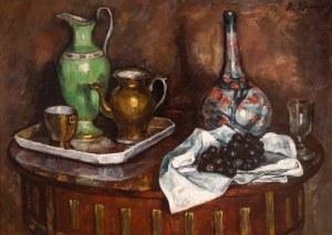 Roman Kramsztyk (1885 Warszawa-1942 tamże), Martwa natura, (Martwa natura z winogronami), ok. 1912 r.