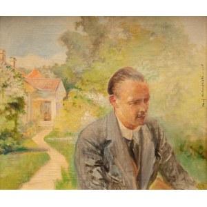 Jacek Malczewski (1854 Radom - 1929 Kraków), Portret syna Rafała, 1925 r.
