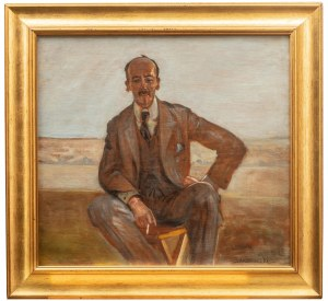 Jacek Malczewski (1854 Radom - 1929 Kraków), Portret mężczyzny, 1922 r.