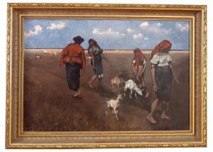 Włodzimierz Tetmajer (1862 Harklowa - 1923 Kraków), Na wsi