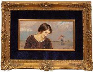 Wlastimil Hofman (1881 Praga - 1970 Szklarska Poręba), Dziewczyna