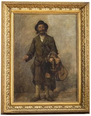Hipolit Lipiński (1846 Nowy Targ - 1884 Kraków), Portret handlującego Żyda