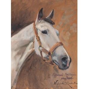 Wojciech Kossak (1856 Paryż - 1942 Kraków), Głowa konia, 1934 r.