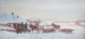 Adam Setkowicz (1875 Kraków - 1945 tamże), Zimą