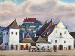 Władysław Skoczylas (1883 Wieliczka – 1934 Warszawa), Motyw z Kazimierza