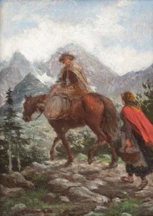 Walery Eljasz-Radzikowski (1841 Kraków – 1905 tamże), Tatry