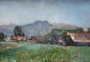 Władysław Jarocki (1879 Podhajczyki/Ukraina - 1965 Kraków), Widok na Giewont