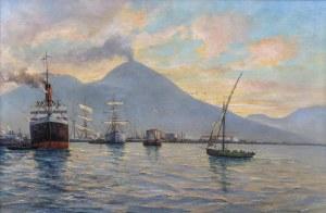 Adolf Schuhknecht (1889 Reichenbach - 1940), Port w Neapolu