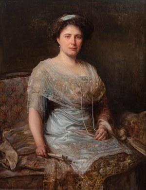 Bolesław Jan Czedekowski (1885 Wojniłów – 1969 Wiedeń), Portret kobiety, 1911 r.
