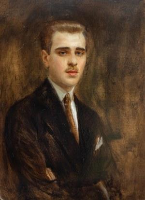 Tadeusz Styka (1889 Kielce-1954 Nowy Jork), Portret mężczyzy