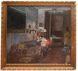 Henryk Szczygliński (1881 Łodź - 1944 Warszawa), Kobieta we wnętrzu