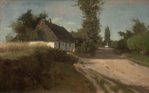 Władysław Szerner (1836 Warszawa - 1915 Unterhaching), Pejzaż wiejski