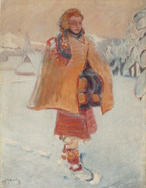 Władysław Jarocki (1879 Podhajczyki/Ukraina - 1965 Kraków), Hucułka