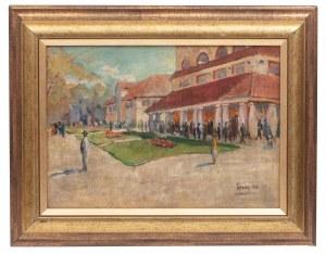Malarz nieokreślony (1 poł. XX w.), Targ, 1923 r.