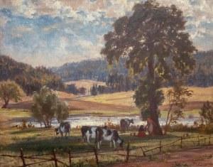 Albert Lipczinski (1876 Lebork – 1974 Sopot), Pejzaż