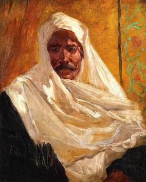 Franz Francois Roubaud (1856-1928), Szejk arabski