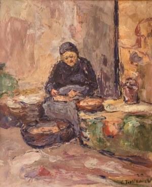 Włodzimierz Terlikowski (1873 wieś pod Warszawą - 1951 Paryż), Przekupka, 1920 r.