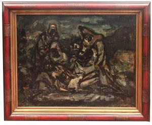 Stanisław Eleszkiewicz (1900 Czutowo k. Połtawy - 1963 Paryż), Grób Chrystusa