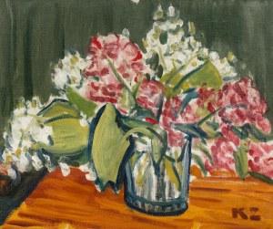 Kazimierz Zielenkiewicz Caziel (1906 Sosnowiec – 1988 Isle Brewers), Kwiaty